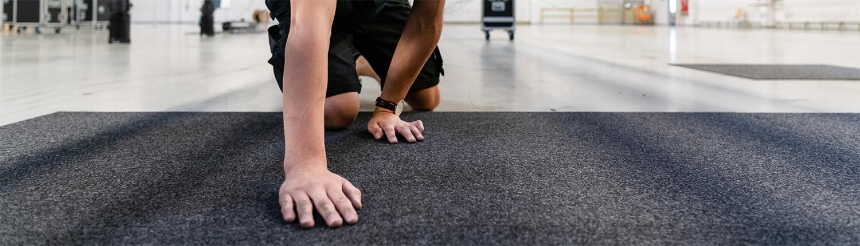 Bodenbeläge und Teppiche für Events