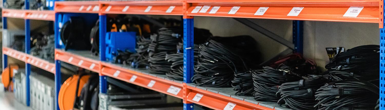 Eventzubehör und Kabel für jeden Bedarf
