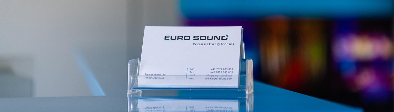 Adresse Euro Sound Veranstaltungstechnik