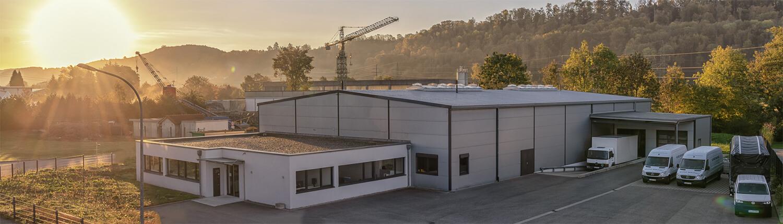 Lager- und Bürogebäude von Euro Sound Veranstaltungstechnik