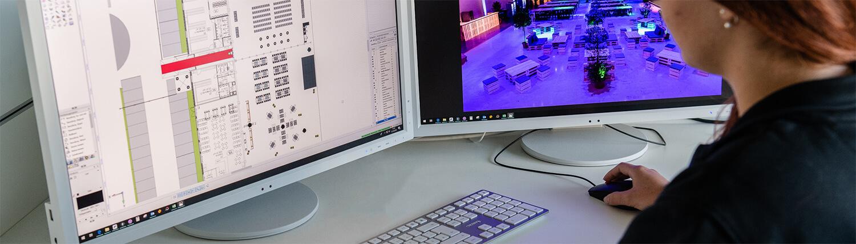 Veranstaltungskonzeption, Planung und Visualisierung mit Vectorworks