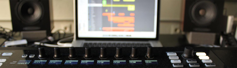 Mobiles Tonstudio und Audio Recording