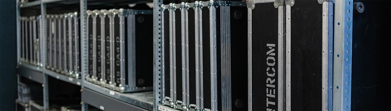 Vermietung und Dry Hire von Veranstaltungstechnik und Kommunikationssystemen