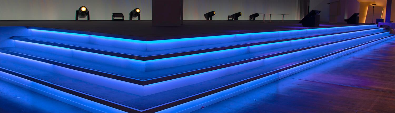 Lichtdesign und Bühnendesign für Gala-Veranstaltungen