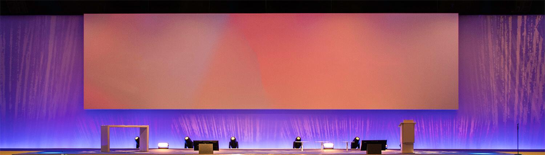 Tagungstechnik und Bühnendesign
